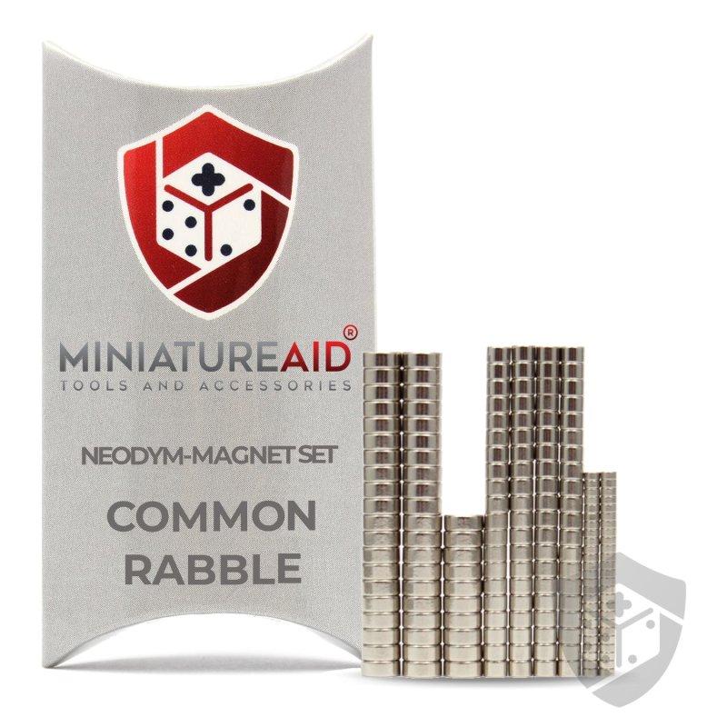 Common Rabble Neodymium-Magnets